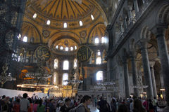 Istanbul, Turkey - Hagia Sophia mosque royalty free stock photos