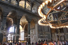 Istanbul, Turkey - Hagia Sophia mosque Stock Image