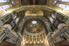 Sainte-Therese basilica, Lisieux, France Royalty Free Stock Photography