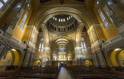 Sainte-Therese basilica, Lisieux, France Stock Photography