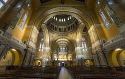 Sainte-Therese basilica, Lisieux, France Stock Photography