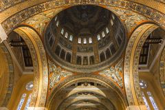 Sainte-Therese basilica, Lisieux, France Stock Images