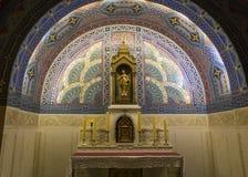 Sainte-Therese basilica, Lisieux, France Stock Image
