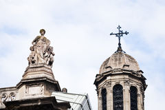 Sainte-Trinite Church in Paris Stock Images