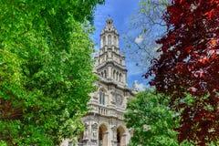 Sainte-Trinitekirche - Paris, Frankreich Stockbild