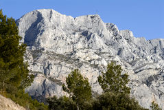 Sainte Victoire Stock Photo