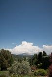 Sainte-Victoire - Berg in de Provence, Frankrijk Royalty-vrije Stock Afbeelding