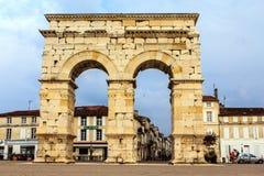 Saintes, Francia Imagen de archivo