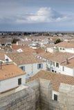 Saintes-Maries-de-Ла-Mer, Camargue, Провансаль стоковое изображение