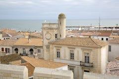 Saintes-Maries-de-Ла-Mer, Camargue, Провансаль стоковые фотографии rf
