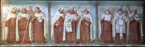 Saints carmélites photo stock