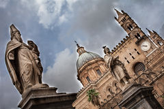 Saints of the Cathedral of Palermo Stock Photo