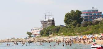 Saints Constantine and Helena resort, Bulgaira Royalty Free Stock Image