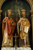 Saints Cyril and Methodius Stock Images