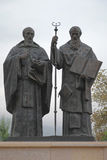 Saints Cyrille et Methodius Skopje Photos stock