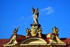 Saints dans le ciel Images stock