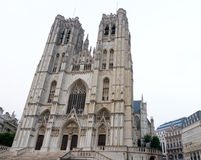 Saints Michael and Gudule in Brussels Stock Photography