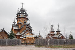 Saints monastery Svyatogorskaya laurels Royalty Free Stock Photography