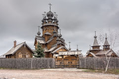 Saints monastery Svyatogorskaya laurels Royalty Free Stock Photo