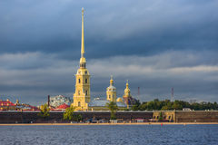 Saints Peter and Paul Cathedral Stock Photo