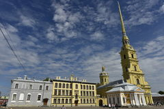 Saints Peter and Paul Cathedral, Saint Petersburg, Russia Royalty Free Stock Photo