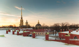 Saints Peter and Paul Cathedral Royalty Free Stock Photo