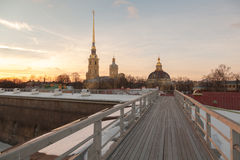 Saints Peter and Paul Cathedral Stock Image
