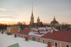 Saints Peter and Paul Cathedral Royalty Free Stock Photos