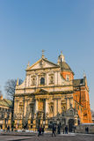 Saints Peter and Paul Church Stock Images