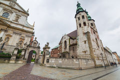 Saints Peter and Paul Church in Cracow Royalty Free Stock Image