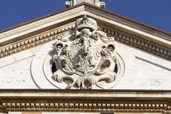 Saints Peter and Paul Church, details of facade, Krakow, Poland. Royalty Free Stock Image