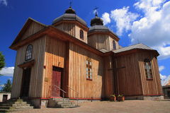 Saints Peter and Paul church in Jurowce (Poland, Podkarpackie Province). Royalty Free Stock Photos