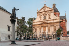 Saints Peter and Paul Church in Krakow, Poland Royalty Free Stock Photography