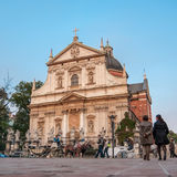 Saints Peter and Paul Church in Krakow, Poland Royalty Free Stock Image