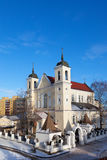 Saints Peter and Paul Church in Minsk Stock Image