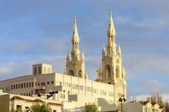 Saints Peter and Paul Church, San Francisco Stock Photos