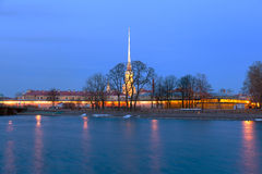 Saints Peter and Paul fortress Stock Photo