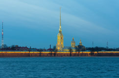 Saints Peter and Paul fortress Stock Photography