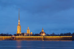 Saints Peter and Paul fortress Stock Image