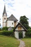 Saints Primus and Felician Church in Maria Wörth Stock Photos