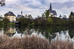 Saints Primus and Felician Church in Maria Worth Royalty Free Stock Images