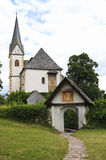 Saints Primus and Felician Church in Maria Wörth Stock Photos
