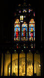 Saints Stained Glass Cathedral NYC Royalty Free Stock Photo