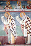 Saints on the wall Royalty Free Stock Image