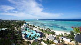 Saipan Island. The  photograph of the Saipan island Kensington HOTEL Stock Photo