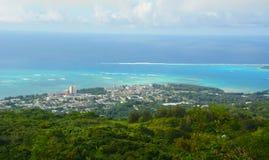Saipan Island. Saipan sight from Mount Tapochau Stock Photography