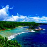 Saipan landscape. One of the greatest views in Saipan Royalty Free Stock Image