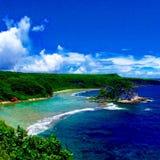 Saipan landskap royaltyfri bild