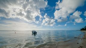 Saipan Mike Beach Stock Image
