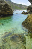 Saipan tide pools Stock Photo